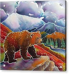 Land Of The Great Bear Acrylic Print by Harriet Peck Taylor