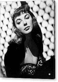 Land Of The Pharaohs, Joan Collins, 1955 Acrylic Print by Everett