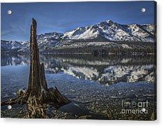 Landmarks Acrylic Print by Mitch Shindelbower