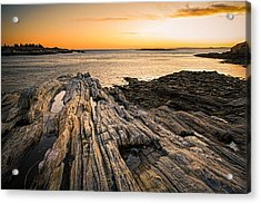 Lands End Acrylic Print by Robert Clifford