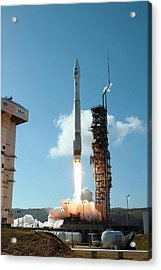Landsat Data Continuity Mission Launch Acrylic Print by Nasa