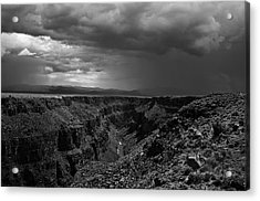 Landscape 17 D Taos Nm Acrylic Print by Otri Park