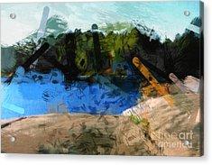 Landscape Impact Acrylic Print by Lutz Baar