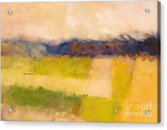Landscape Impression Acrylic Print by Lutz Baar
