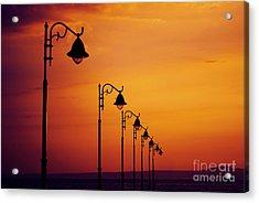 Lanterns Acrylic Print by Jelena Jovanovic