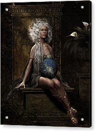 Lap Of The Gods Acrylic Print by Shanina Conway