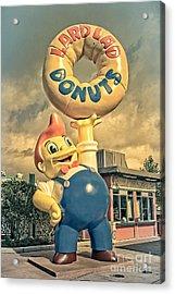 Lard Lad Donuts Acrylic Print by Edward Fielding