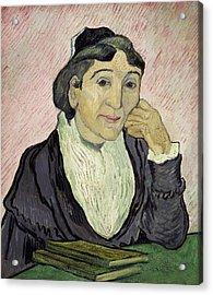 L'arlesienne Madame Ginoux Acrylic Print by Vincent van Gogh