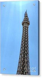 Las Vegas - Paris Acrylic Print by Gregory Dyer