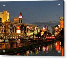 Las Vegas 36 Acrylic Print by Lance Vaughn