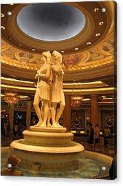 Las Vegas - Caesars Palace - 121210 Acrylic Print by DC Photographer