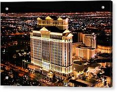 Las Vegas Acrylic Print by Kristin Elmquist