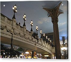Las Vegas - Paris Casino - 12126 Acrylic Print by DC Photographer