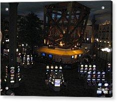 Las Vegas - Paris Casino - 12127 Acrylic Print by DC Photographer