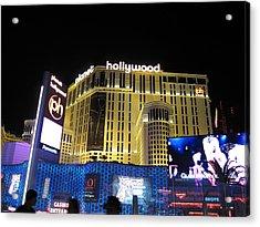 Las Vegas - Planet Hollywood Casino - 12122 Acrylic Print by DC Photographer