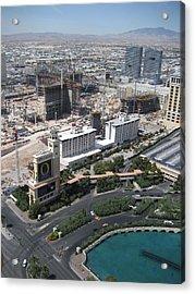 Las Vegas - The Srip - 12129 Acrylic Print by DC Photographer