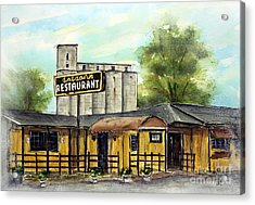 Last Day At Dotson's Acrylic Print by Tim Ross