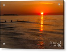 Last Light Acrylic Print by Adrian Evans