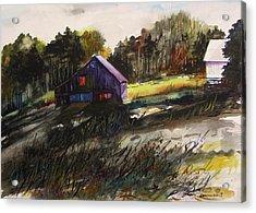 Last Sunlight Acrylic Print by John  Williams