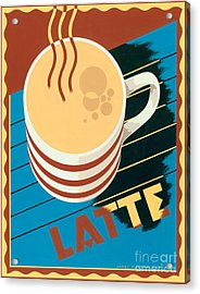 Latte Acrylic Print by Brian James