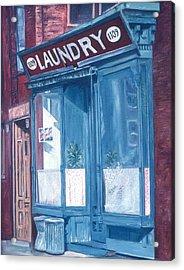 Laundry Acrylic Print by Anthony Butera