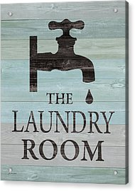 Laundry Room Acrylic Print by Jo Moulton