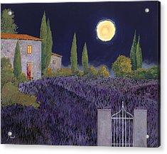 Lavanda Di Notte Acrylic Print by Guido Borelli
