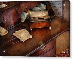 Lawyer - Important Documents  Acrylic Print by Mike Savad