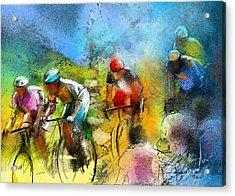 Le Tour De France 01 Acrylic Print by Miki De Goodaboom
