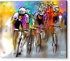 Le Tour De France 03 Acrylic Print by Miki De Goodaboom