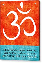 Lead Me Acrylic Print by Linda Woods