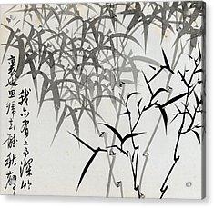 Leaf G Acrylic Print by Rang Tian