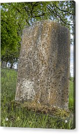 Leaning Over Acrylic Print by Jean Noren