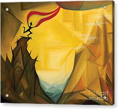 Leap Of Faith Acrylic Print by Tiffany Davis-Rustam