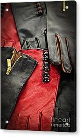 Leather Gloves Acrylic Print by Elena Elisseeva