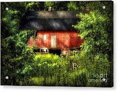 Leave Our Farms Acrylic Print by Lois Bryan