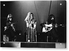 Led Zeppelin 1971 Acrylic Print by Chris Walter