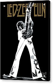 Led Zeppelin No.06 Acrylic Print by Caio Caldas