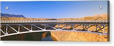 Lees Ferry In Marble Canyon, Navajo Acrylic Print by Panoramic Images