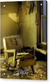Left Behind-series 02 Acrylic Print by David Allen Pierson