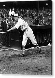 Lefty Grove Boston Red Sox Acrylic Print by Retro Images Archive