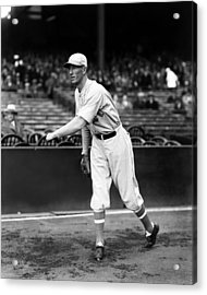Lefty Grove Light Warm Up Acrylic Print by Retro Images Archive