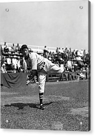 Lefty Grove Working Out Before Game Acrylic Print by Retro Images Archive
