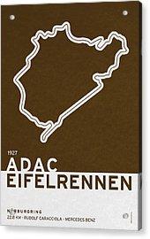 Legendary Races - 1927 Eifelrennen Acrylic Print by Chungkong Art