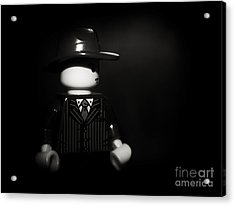Lego Film Noir 1 Acrylic Print by Cinema Photography
