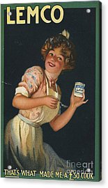 Lemco 1910s Uk Acrylic Print by The Advertising Archives