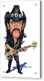 Lemmy Kilmister Acrylic Print by Art