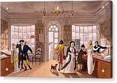 Lending Library, 1813 Acrylic Print by James Green