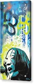 Lennon Acrylic Print by dreXeL