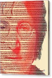 Lennon  Acrylic Print by Mark Ashkenazi